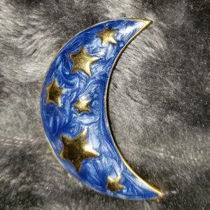 Vintage Moon Broach